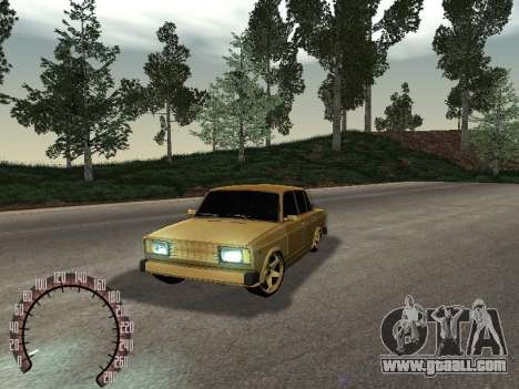 VAZ 2105 Gold for GTA San Andreas
