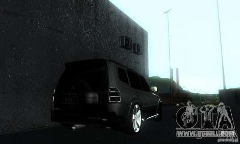 Mitsubishi Pajero FBI for GTA San Andreas left view