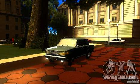 VAZ 2107 v2.0 for GTA San Andreas