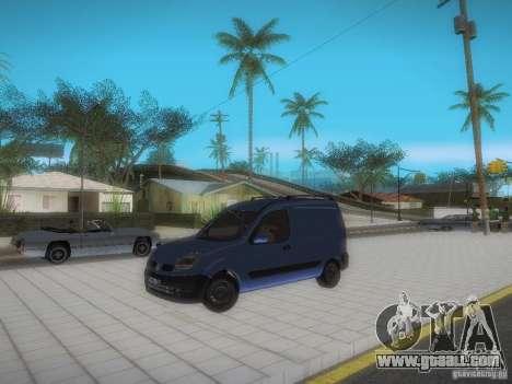 Renault Kangoo II Stock for GTA San Andreas side view