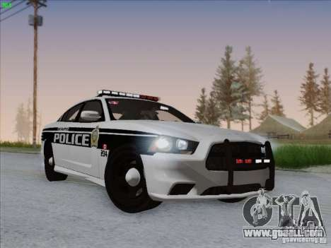 Dodge Charger 2012 Police for GTA San Andreas
