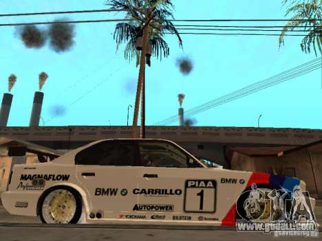 BMW E34 M5 - DTM for GTA San Andreas right view