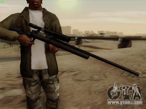 Remington 700 for GTA San Andreas second screenshot