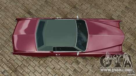 Cadillac Eldorado 1968 for GTA 4 right view