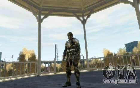Crysis 3 The Hunter skin for GTA 4 forth screenshot