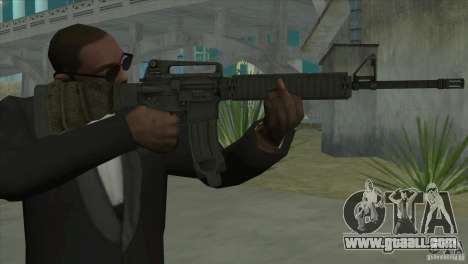 M16A4 from BF3 for GTA San Andreas second screenshot