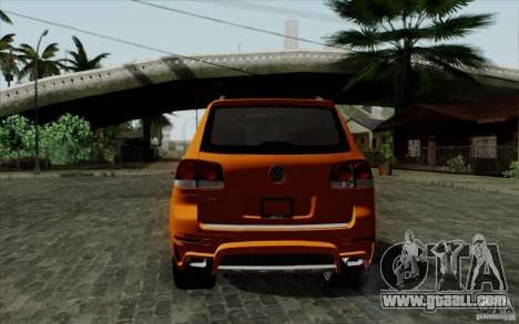 Volkswagen Touareg R50 Light for GTA San Andreas right view