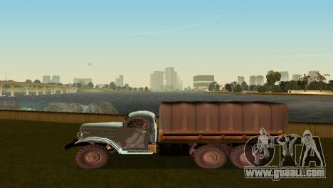 ZIL-157 for GTA Vice City right view
