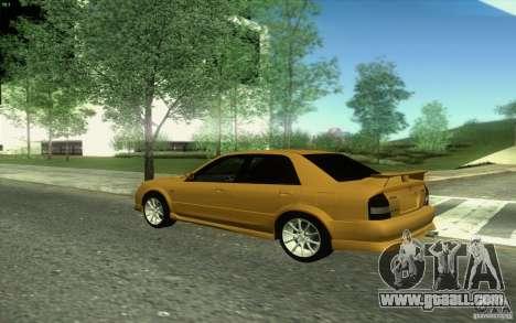 Mazda Speed Familia 2001 V1.0 for GTA San Andreas inner view
