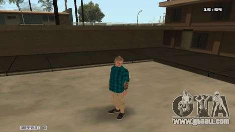 Build skins Rifa for GTA San Andreas