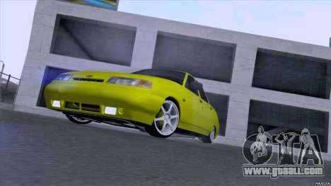 VAZ 2110 Yellow sand for GTA San Andreas