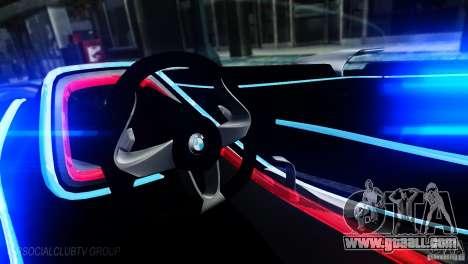 BMW Vision ConnectedDrive Concept 2011 for GTA 4 left view