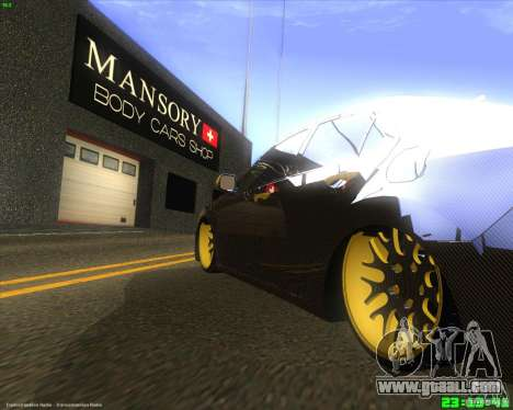 Honda Accord Mansory for GTA San Andreas right view