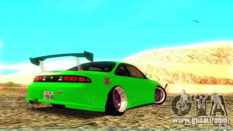 Nissan Silvia S14 for GTA San Andreas right view