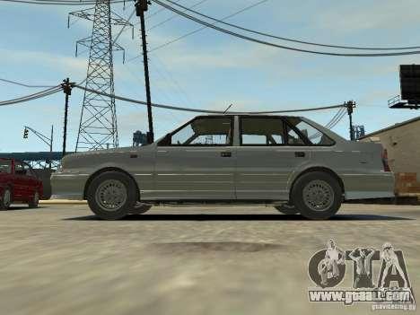 FSO Polonez Atu for GTA 4 back view