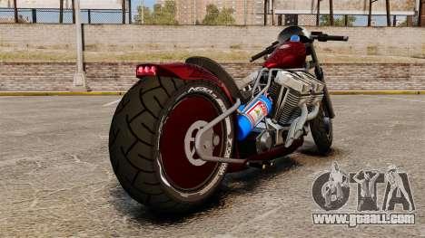Dragbike Street Racer for GTA 4 back left view