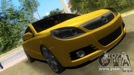 Opel Vectra for GTA Vice City back left view