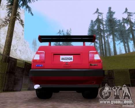 Fiat Tempra 1998 Tuning for GTA San Andreas back view