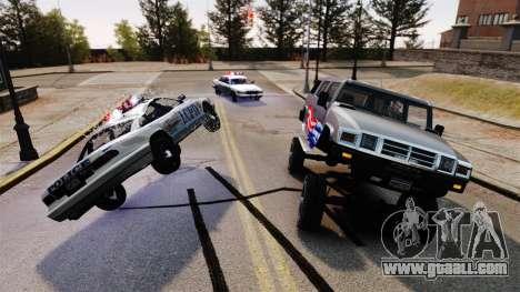 Monster Patriot for GTA 4 third screenshot