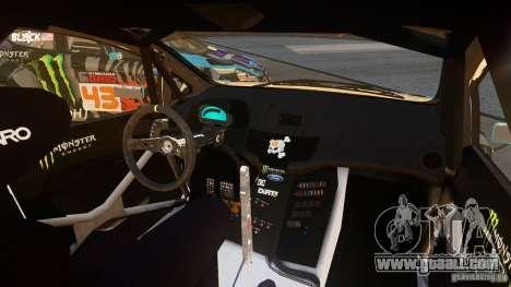 Ford Fiesta Gymkhana - Ken Block (Hoonigan) 2013 for GTA 4 left view