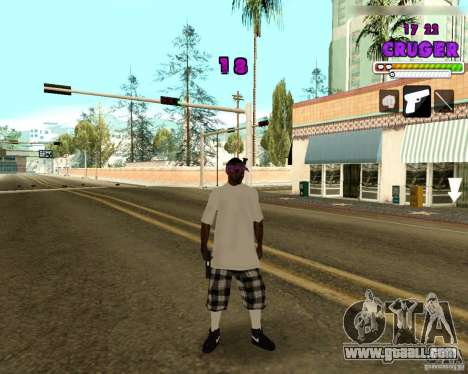 Ballas by R.Cruger for GTA San Andreas second screenshot