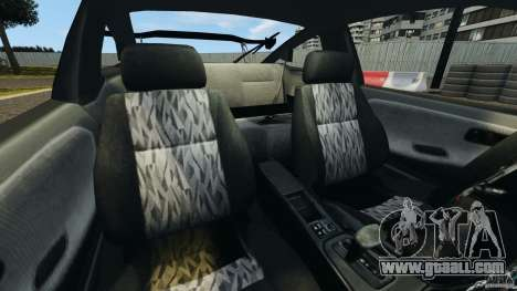 Nissan 240SX Kawabata Drift for GTA 4 inner view