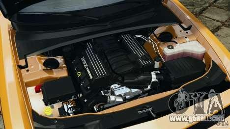 Dodge Challenger SRT8 392 2012 ACR [EPM] for GTA 4 upper view