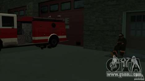 Revival fire station in San Fierro v 2.0 Final for GTA San Andreas sixth screenshot
