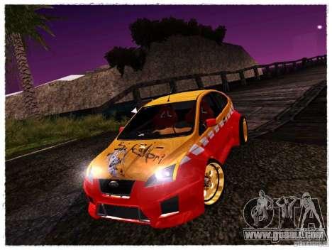 Ford Focus ST Calibri-Ace for GTA San Andreas