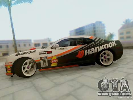 Chevrolet Camaro Hankook Tire for GTA San Andreas right view