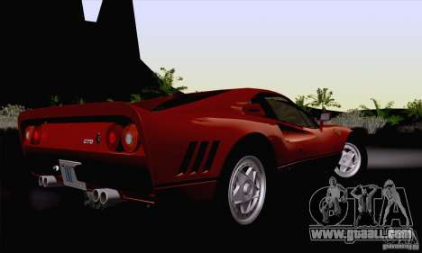 Ferrari 288 GTO 1984 for GTA San Andreas left view