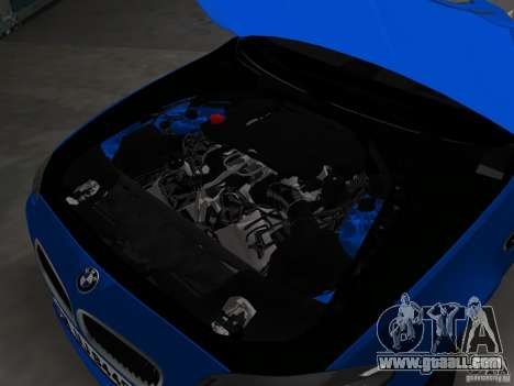BMW M5 F10 2012 for GTA Vice City bottom view