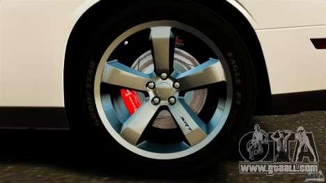 Dodge Challenger SRT8 392 2012 ACR [EPM] for GTA 4 bottom view