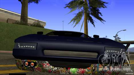 Infernus v3 by ZveR for GTA San Andreas right view