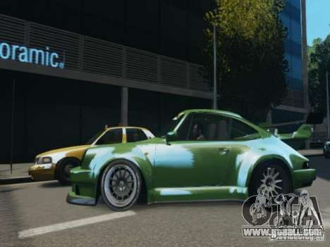 Porsche 911 Turbo RWB Pandora One Beta for GTA 4 left view