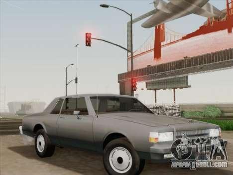 Chevrolet Caprice 1986 for GTA San Andreas wheels