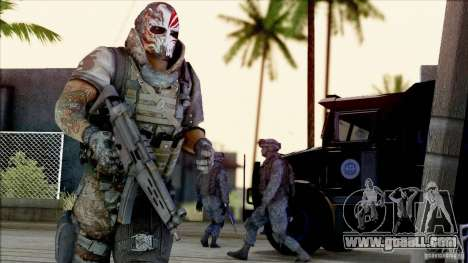 Army Of Two - Devils Cartel for GTA San Andreas second screenshot