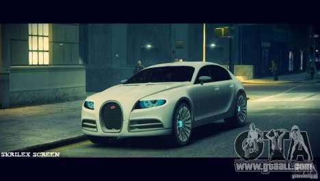 Bugatti Galibier 16C (Bug fix) for GTA 4