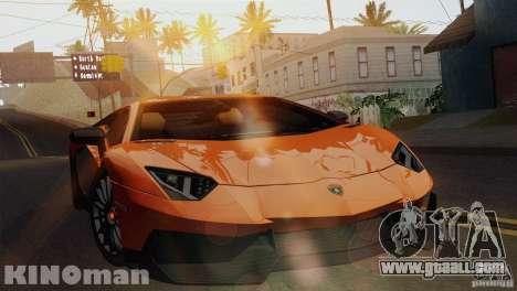 Lamborghini Aventador LP 700-4 for GTA San Andreas right view