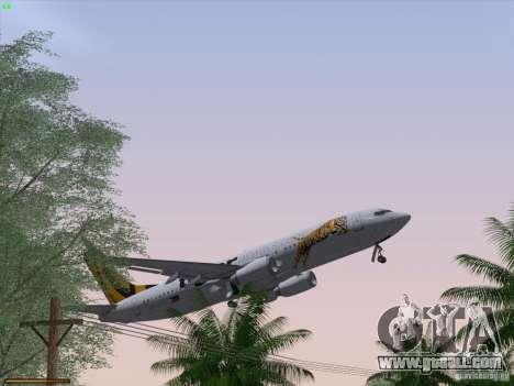 Boeing 737-800 Tiger Airways for GTA San Andreas interior