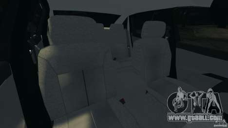 Chevrolet Impala Unmarked Detective [ELS] for GTA 4 inner view