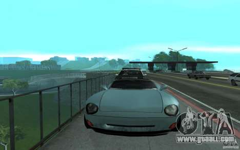 Police at the bridge, San Fierro for GTA San Andreas third screenshot
