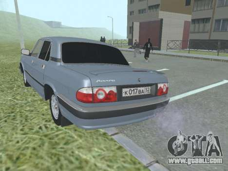 GAZ 3110 Volga for GTA San Andreas right view