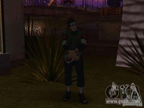 Skin Pack From Naruto for GTA San Andreas third screenshot