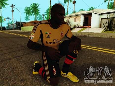 Mario Balotelli v3 for GTA San Andreas fifth screenshot