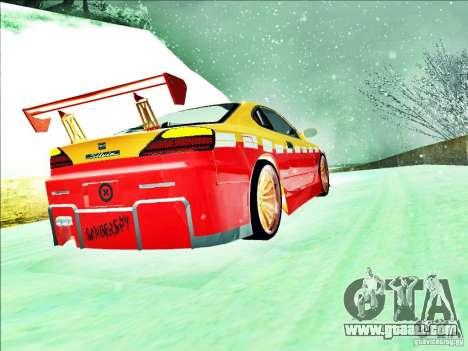 Nissan Silvia S15 Calibri-Ace for GTA San Andreas inner view