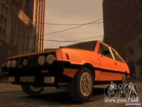 FSO Polonez 2.0X Coupe for GTA 4 right view