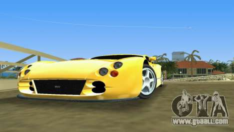 TVR Cerbera Speed 12 for GTA Vice City left view