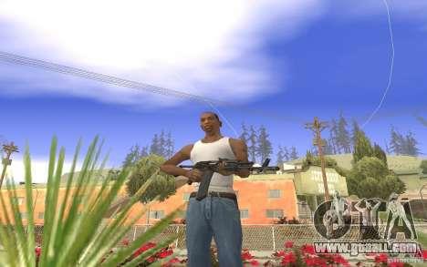 AK 101 for GTA San Andreas second screenshot