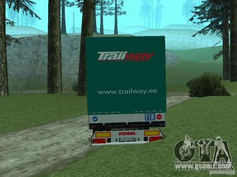 KOGEL Trailer for GTA San Andreas left view